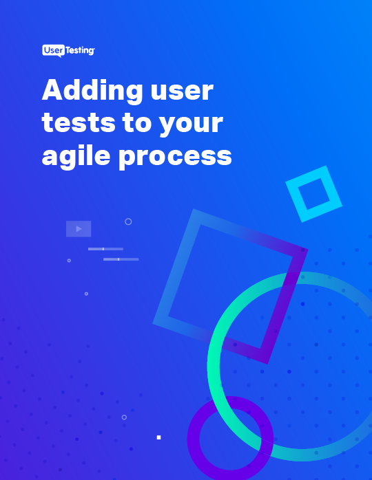 Adding user tests to your agile process