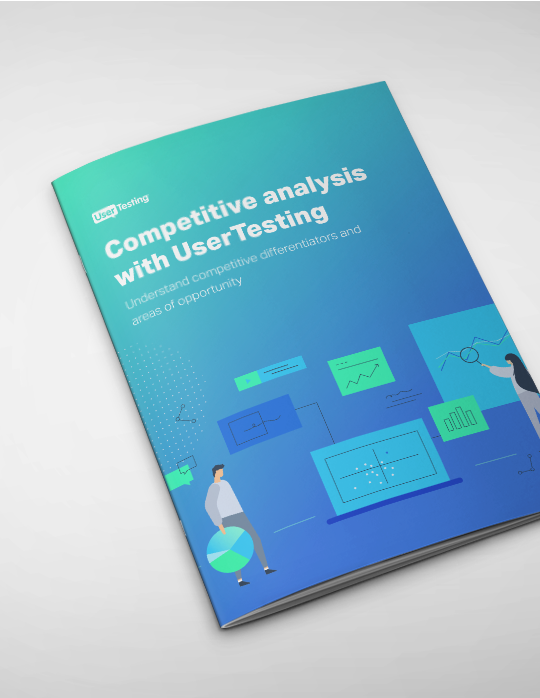 Competitive analysis with UserTesting