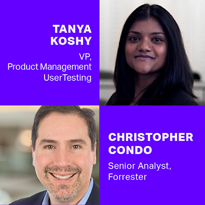 Christopher Condo And Tanya Koshy