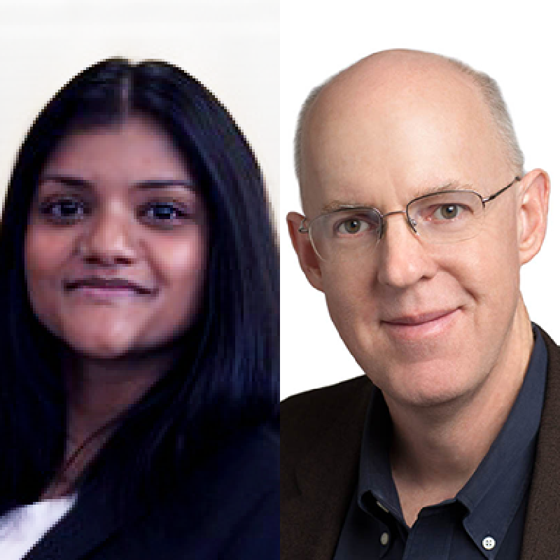 Tanya Koshy And Michael Mace