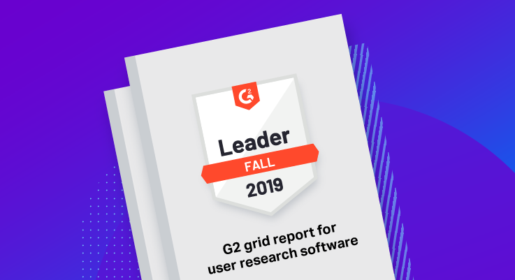 G2 Grid® Report for User Research Software