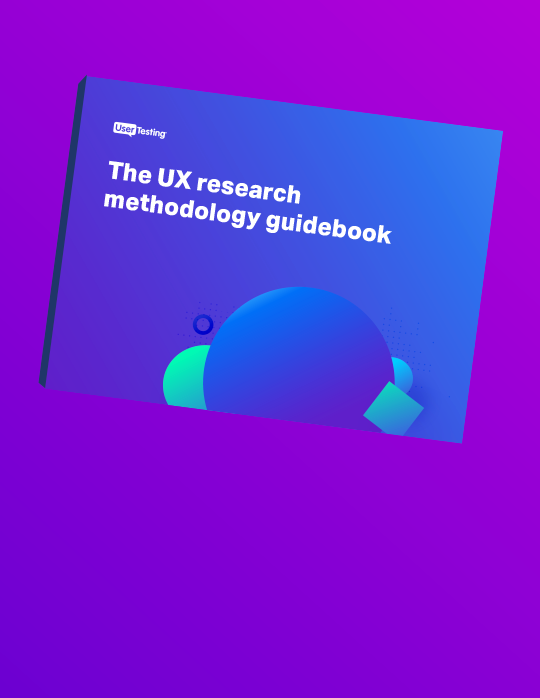 The UX research methodology guidebook