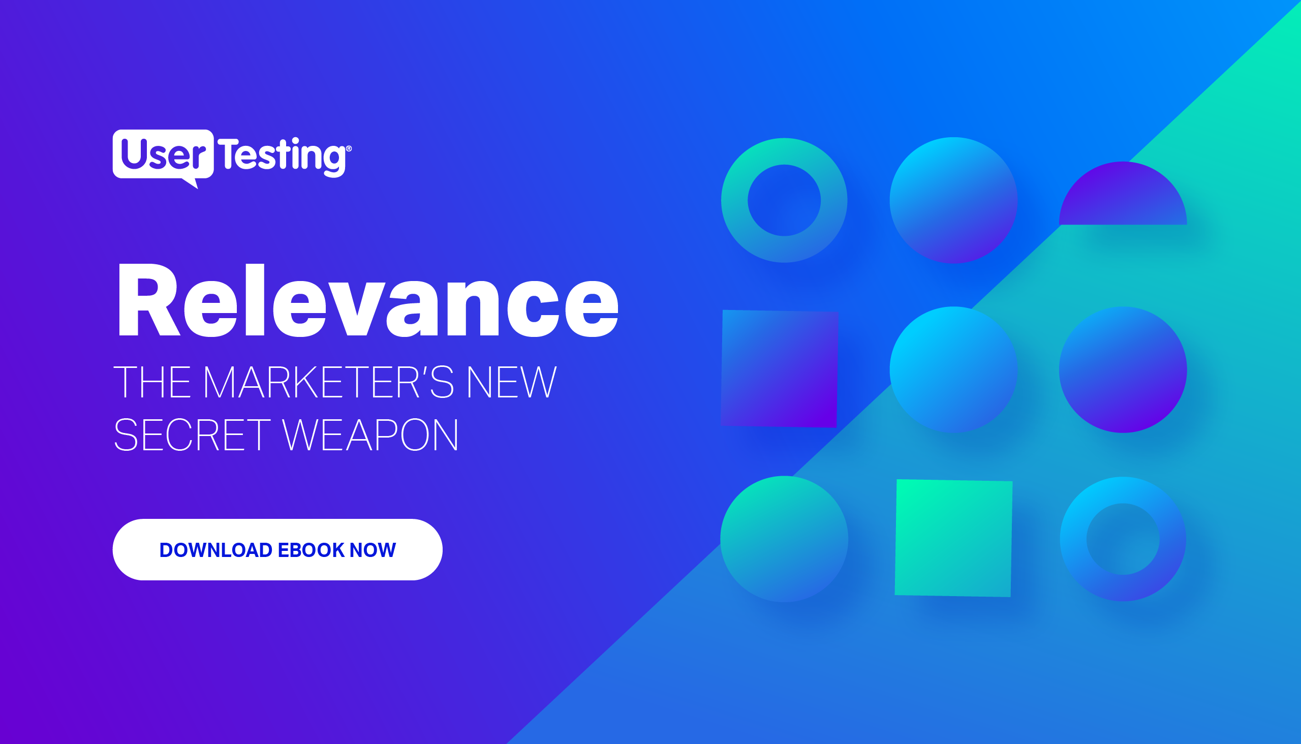 Relevance: the marketer's new secret weapon