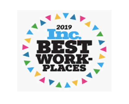2019 Inc. Best Work Places Award
