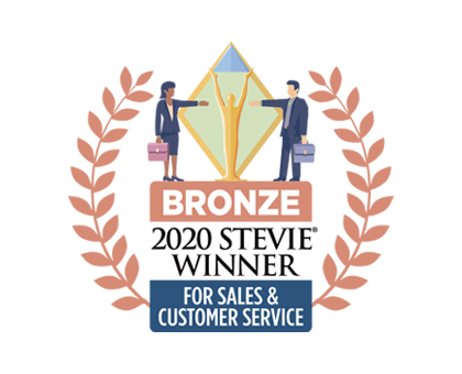 2020 bronze for Sales & Customer Service