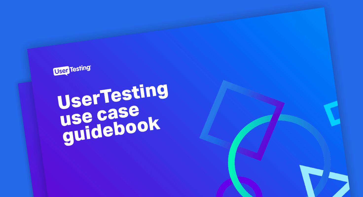 Usertesting usecase guidebook