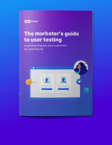 Marketers guide to user testing