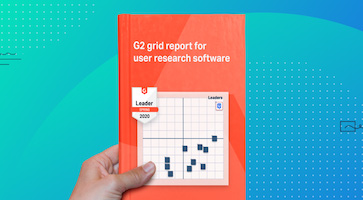 G2 Grid Report for User Research Software