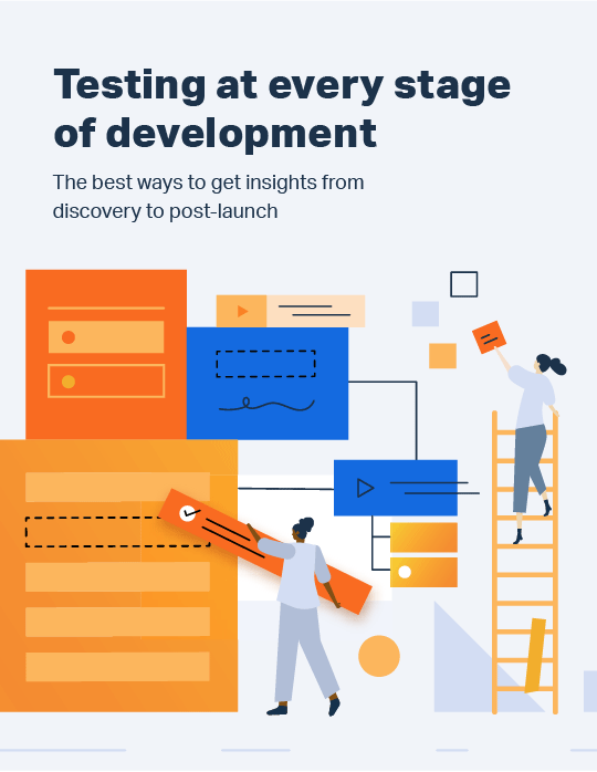 Testing at every stage of development