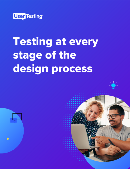 Testing at every stage of the design process ebook