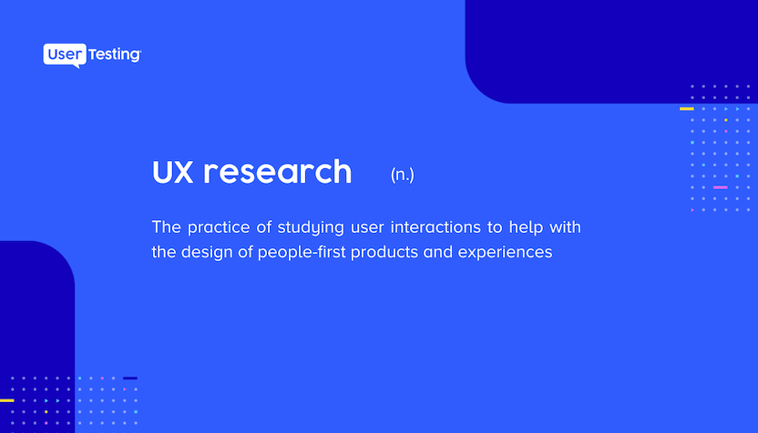 UX research definition