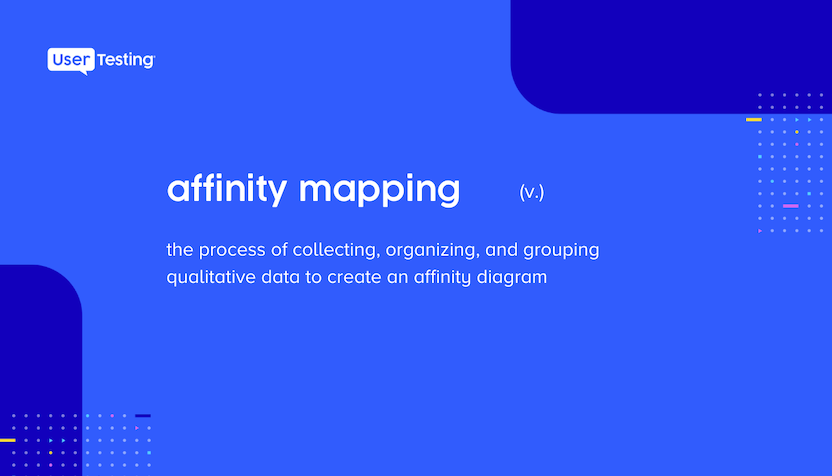 Affinity mapping defiinition