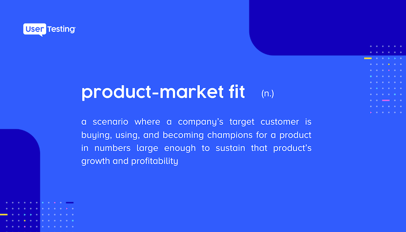definition of product-market fit