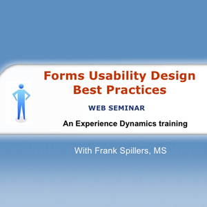 Forms Usability Design Best Practices