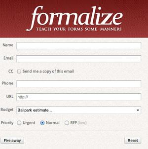 Formalize Form UX Framework