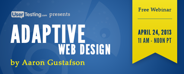 Adaptive Web Design Webinar