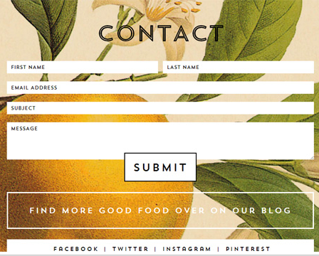Responsive Design Form Inspiration