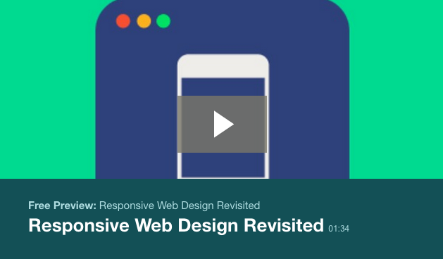 Responsive Web Design Revisited