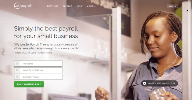 Simply the best payroll for your small business