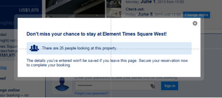 """Don't miss your chance to stay at Element Times Square West! There are 26 people looking at this property."""