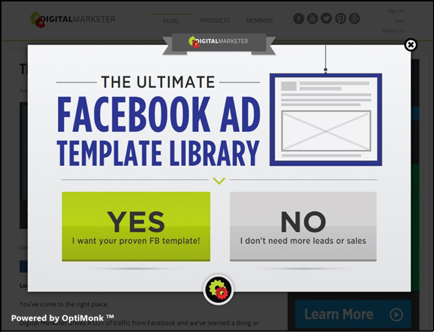 """The Ultimate Facebook Ad Template Library"""