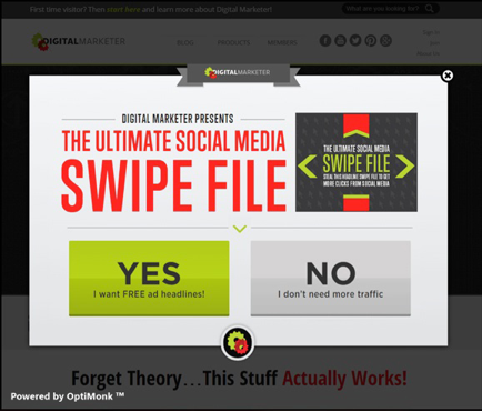 """The Ultimate Social Media Swipe File"""