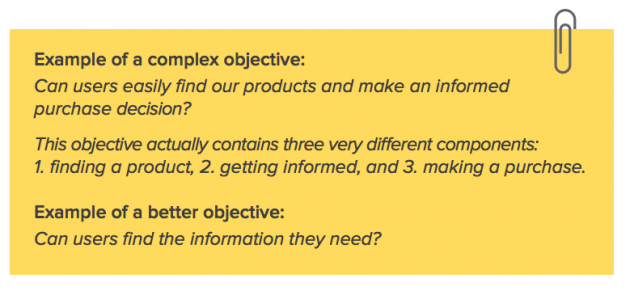 examples of research objectives