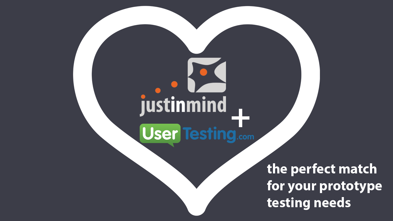 UserTesting Now Integrates With the [Incredibly Awesome] Justinmind Prototyper