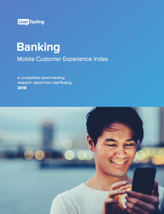 The Banking Mobile CX Index: Top consumer insights to improve the mobile banking customer experience