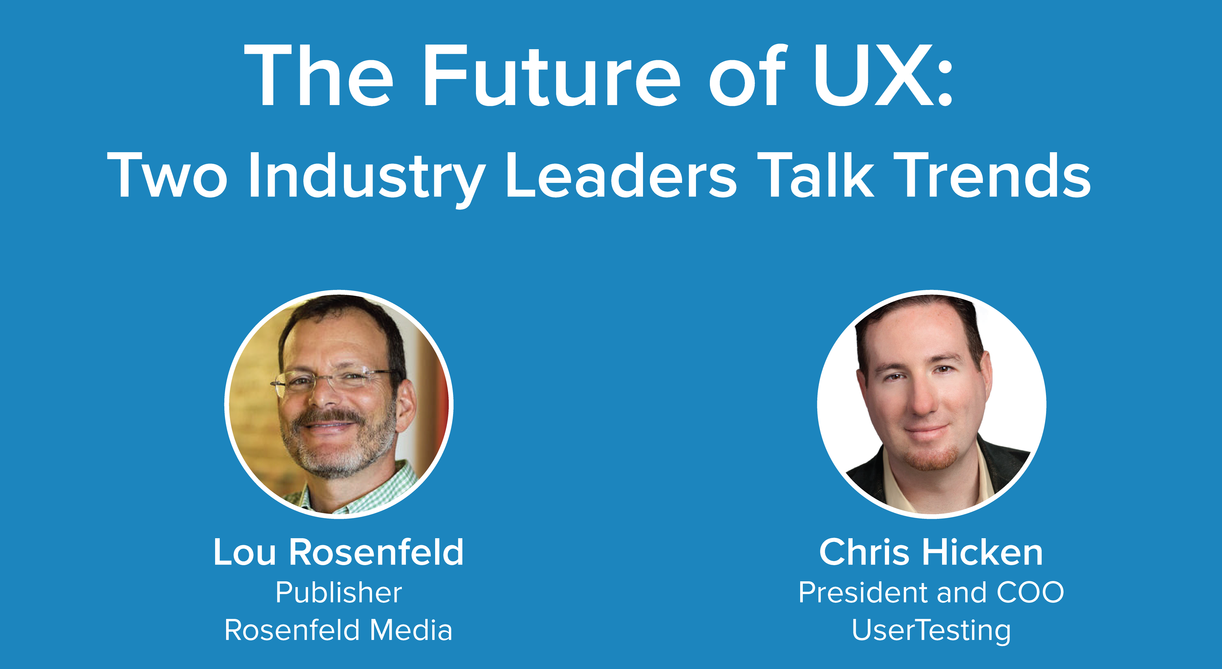 The future of UX: Q&A with industry leaders