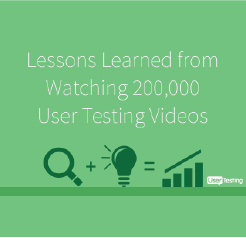 SlideShare: Lessons Learned from Watching 200,000 User Testing Videos